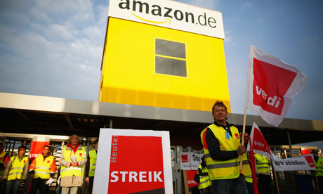 Amazon workers on Bad Hersfeld